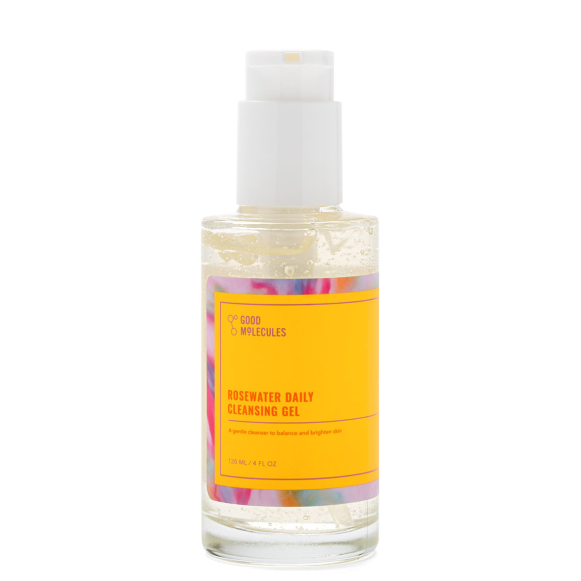 Good Molecules Rosewater Daily Cleansing Gel Single alternative view 1 - product swatch.