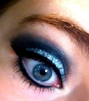 This is some makeup I did for a party :)
