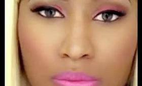 "Nicki Minaj ""Check It Out"" Music Video Inspired Makeup"
