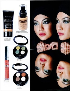 Photoshoot for FCC (FARMASI COLOR COSMETIC). This product was used during my makeup jobs.