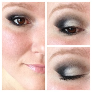 This look was created using only drugstore products. For more information check out www.facebook.com/BlushByAmberNorris.