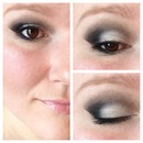 Less smokey eye.