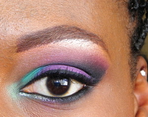 all inglot shadows used