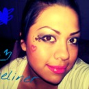 just having fun with my make up :P