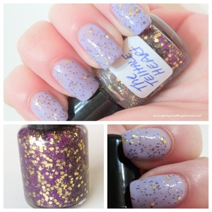 Full review & swatches as well as Etsy shop information for Sick Lacquers on my blog at www.hairsprayandhighheels.net