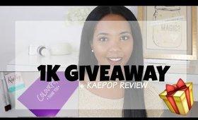 1K GIVEAWAY + KaePop Review