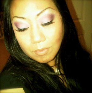 Experimenting with colors from my BH palette...and of course some flared out falsies. LOVE!