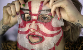 Weird Finds: Kabuki Spa Masks From Japan