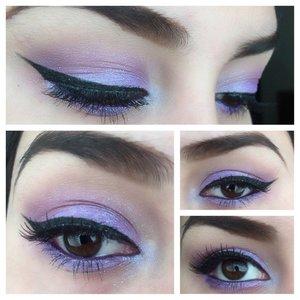 💜 using Kat Von D's Esperanza palette and BH cosmetics 28 neutral eyeshadow palette💜 ----Instagram-- >glam.z