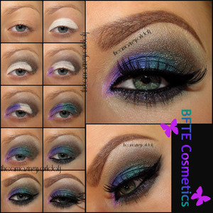 Used BFTE Cosmetic shadows