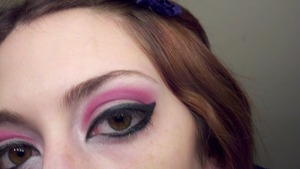sorry it's so blurry, but this was my look for going out dancing :)
