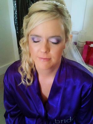 Brides makeup by me