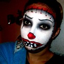Clown Mask Makeup Inspired By Silvia Quiros