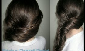 How To: Spring Fishtail Braid
