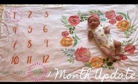 1 MONTH BABY UPDATE | PRESLEY KAY