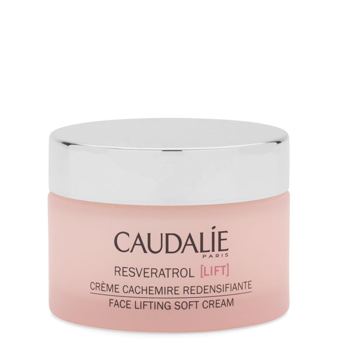 Caudalie Resveratrol [lift] Face Lifting Soft Cream product swatch.