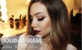 Holiday Haul | TOM FORD, MAC, SEPHORA + More!