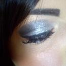 Sparkly metallic eye