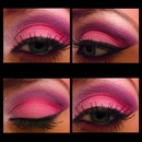 Valentine's Day makeup I did using bh cosmetics 1st edition pallette!