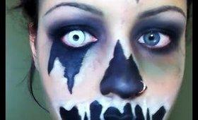 Halloween Series 2017: Demon Face Paint Tutorial