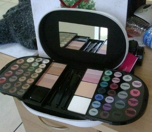 I got this ULTA- Makeup Kit for Xmas and its pretty good... the only thing is that some colors don't have the greatest pigmentation. But overall its works very well.