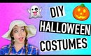 DIY Easy Last Minute Halloween Costumes 2015! + HUGE GIVEAWAY!