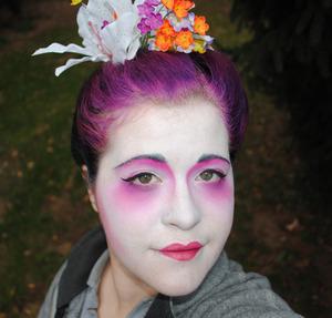 Me as a Geisha for Halloween