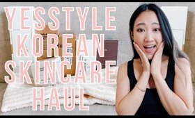 yesstyle kbeauty korean skincare unboxing haul part 2 ✖︎ EverSoCozy