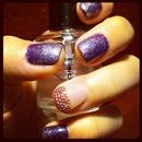Glass nail mani