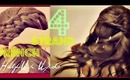 ★HALF-UP UPDO| FOUR {4} STRAND FRENCH BRAID TUTORIAL FOR LONG HAIR |  EVERYDAY PONYTAIL HAIRSTYLES