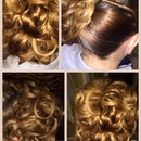 Hair done by me