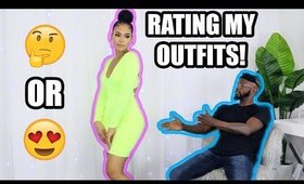 BABYDADDY RATES MY OUTFITS | Hot Miami Styles Try On Haul