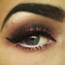 Christmas makeup.