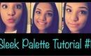 Sleek Palette Tutorial #1 ♡   imperfectbeauty29