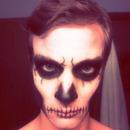 Second Skull Makeup