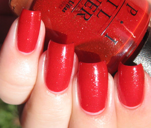 OPI Red Dazzle