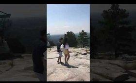 Stone Mountain Atlanta Georgia: Time-Lapse