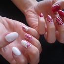 leopard inspired gel nails