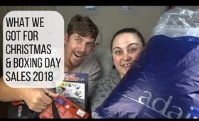 WHAT WE GOT FOR CHRISTMAS & BOXING DAY SALES 2018