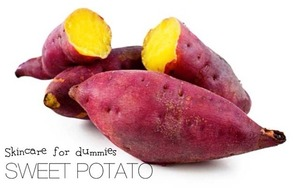 Show your skin some love! Sweet potato contains heaps of vitamin A, which fights against aging and chases wrinkles away. Don't like to eat it? No problem.   1. Mash the sweet potato and smear all over face, avoiding areas near the eye 2. Cut two slices of sweet potato and place gently over your eyes. (Helps to reduce dark eye circles!)  3. Leave on for 15 minutes and rinse off  Ta-Da! 100% organic chemical-free mask. Fit for all skin types! Easy, right?   ♡Carabelle