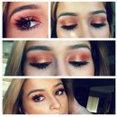 Warm Coral eyes for summer