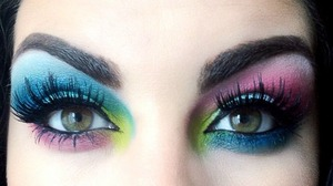 May as well go all out.... Follow me on instagram @makeupmonsterkiki