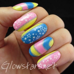 Read the blog post at http://glowstars.net/lacquer-obsession/2014/07/we-filled-each-others-footprints-in-the-snow/