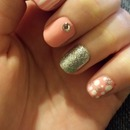 Girly spring nails