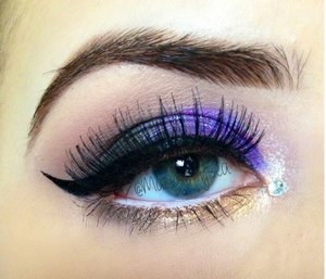 Using mostly Masquerade Cosmetics!