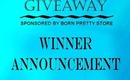 GIVEAWAY Winner Announcement - Nail Art Essentials Giveaway Sponsored by Born Pretty Store