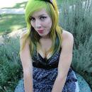 Green/Yellow Hair