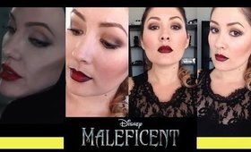 Disney's Maleficent Inspired Makeup Look | Collaboration Video