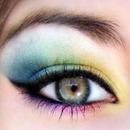 My rainbow look :)