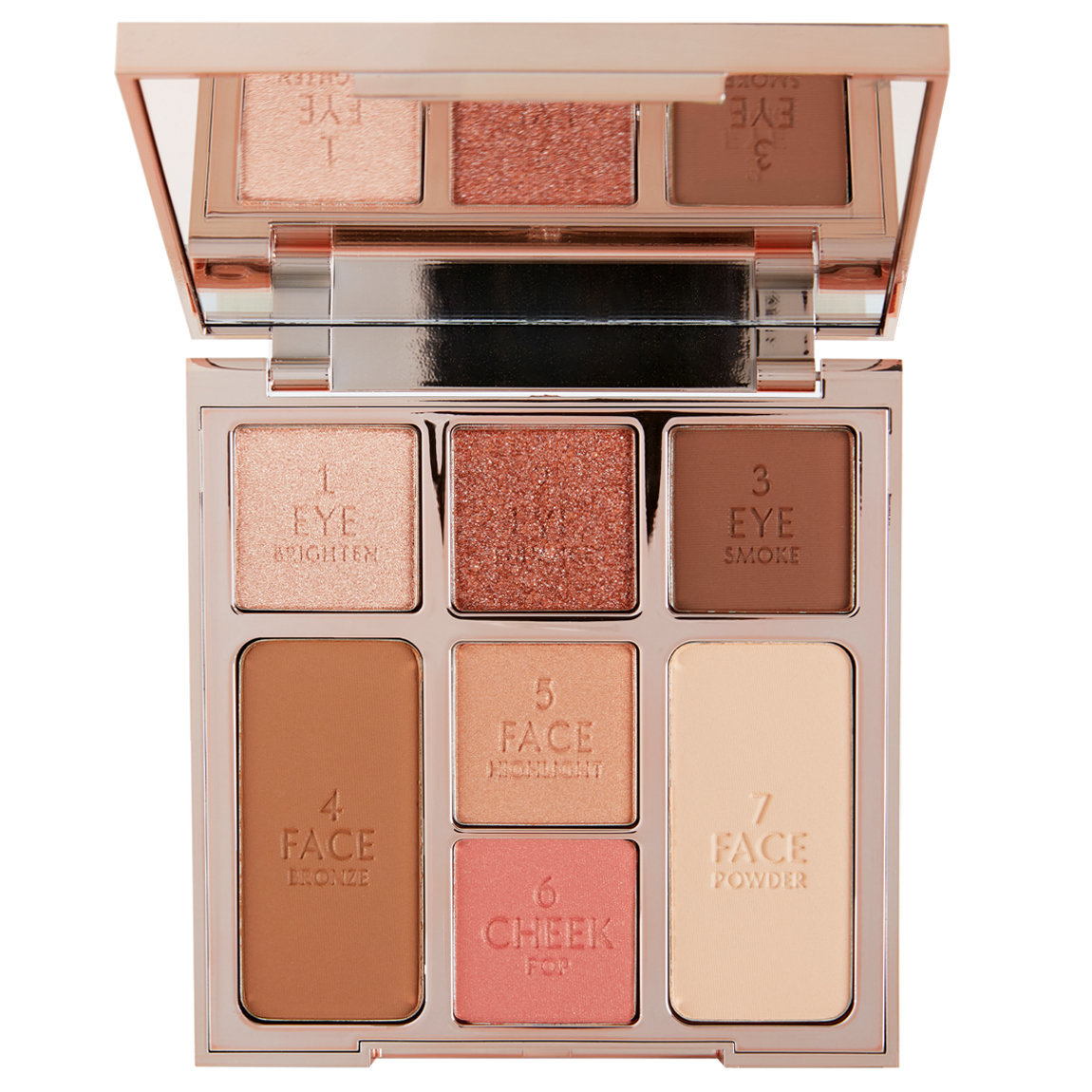 Charlotte Tilbury Instant Look of Love In A Palette Glowing Beauty alternative view 1 - product swatch.